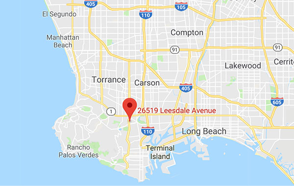 Tidy Nest Cleaning Los Angeles Service Area Map
